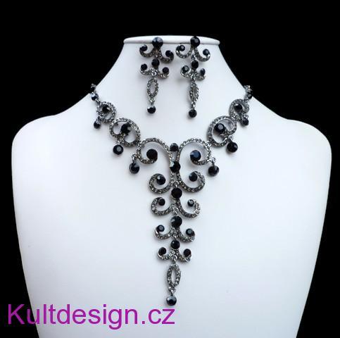 cc2807b3559 Souprava svatební bižuterie náhrdelník a náušnice