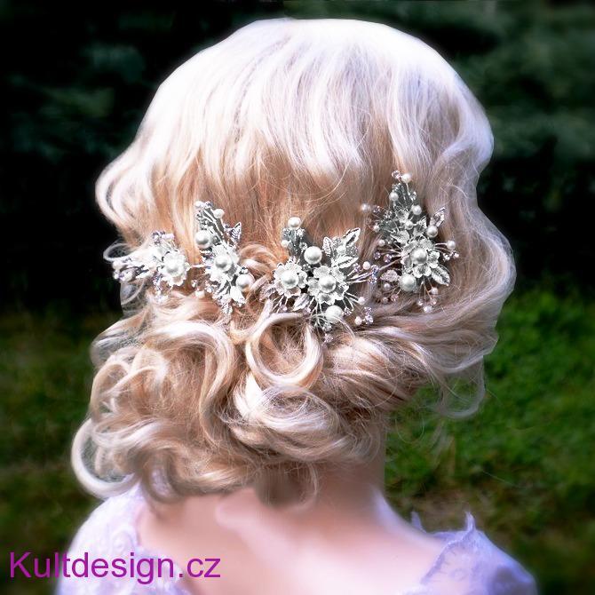9e54fad445a Svatební spona do vlasů